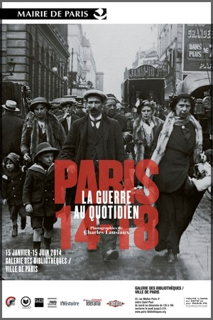 Exhibition in Paris about Daily life in Paris during the war
