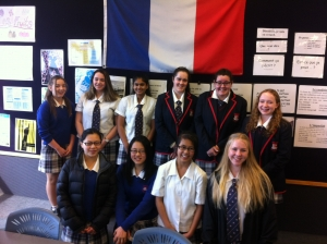 Newlands College students heading to France in April 2016