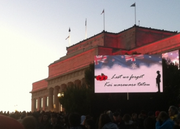 Reflection on ANZAC day